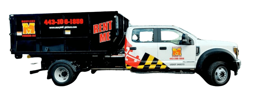 dumpster rentals Maryland Pickers